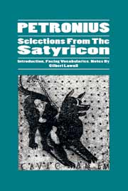Petronius: Selections from the Satyricon