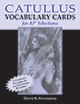 Catullus Vocabulary Cards for AP* Selections