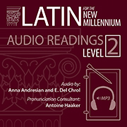 Latin for the New Millennium, Level 2, Audio Latin Readings