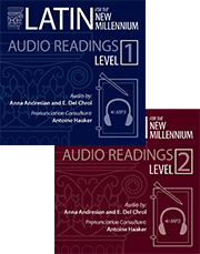 Latin for the New Millennium, Level 1 and 2, Latin Readings Audio