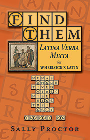 Find Them: Latina Verba Mixta for Wheelock's Latin