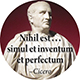 Nihil est...simul et inventum et perfectum.: Nothing is simultaneously both conceived and perfected