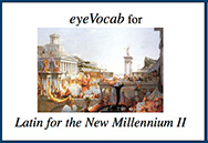 eyeVocab for Latin for the New Millennium, Level 2