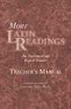 More Latin Readings: An Intermediate Rapid Reader Teacher's Manual