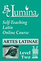 Lumina: Artes Latinae Level 2 Self-Teaching Latin Online Course