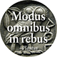 Modus omnibus in rebus: Moderation in all things