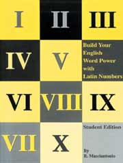 Build Your English Word Power with Latin Numbers
