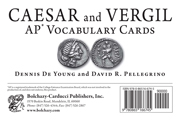 Caesar & Vergil AP* Vocabulary Cards