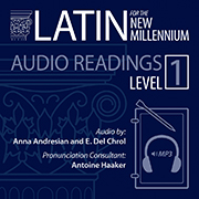 Latin for the New Millennium, Level 1, Audio Latin Readings