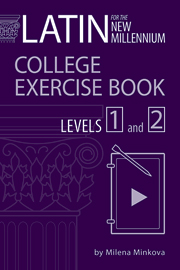 Latin for the New Millennium College Exercise Book, Levels 1 and 2