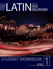Latin for the New Millennium Student Workbook Level 1, 2nd Ed