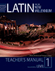 Latin for the New Millennium Text Level 1 - Teacher's Manual, 2nd Ed