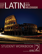 Latin for the New Millennium Student Workbook Level 2, 2nd Ed
