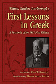 William Sanders Scarborough's First Lessons in Greek