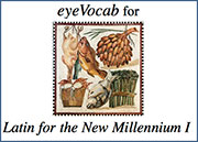 eyeVocab for Latin for the New Millennium, Level 1